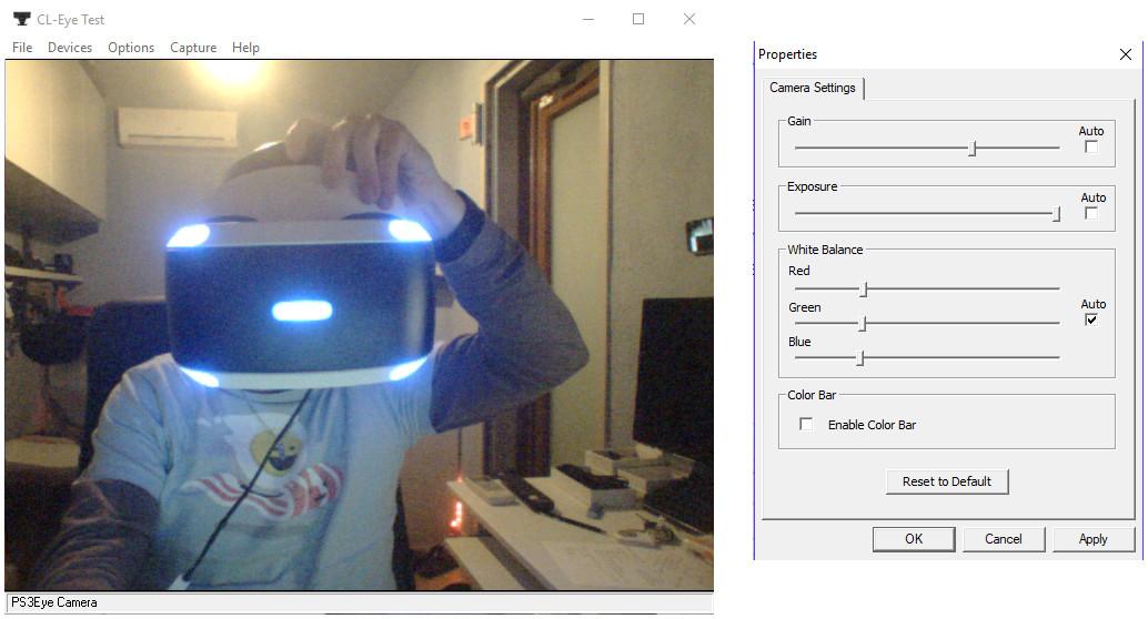 Camera Position Tracking - Trinus Virtual Reality